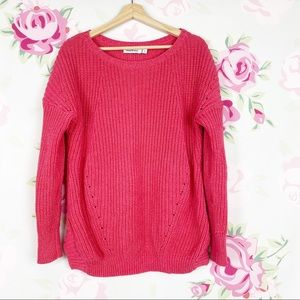 Vineyard Vines Chunky Knit Pink Sweater S